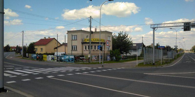 Billboard Aleja Generała Władysława Sikorskiego 47B, Rzeszów