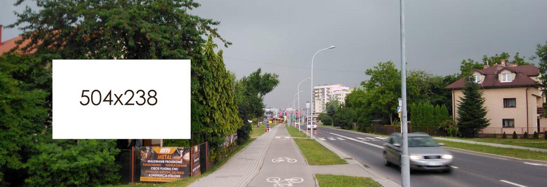 Billboard ul. Krzyżanowskiego, Rzeszów