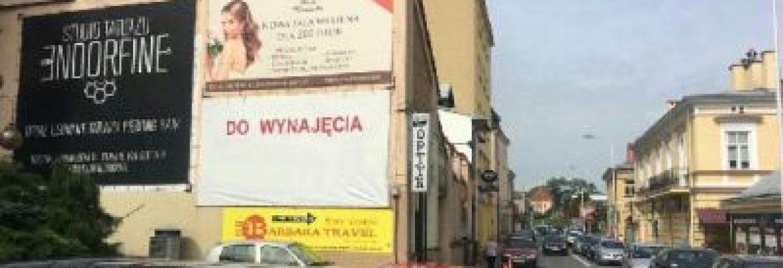 Billboard ul. Kopernika, Rzeszów