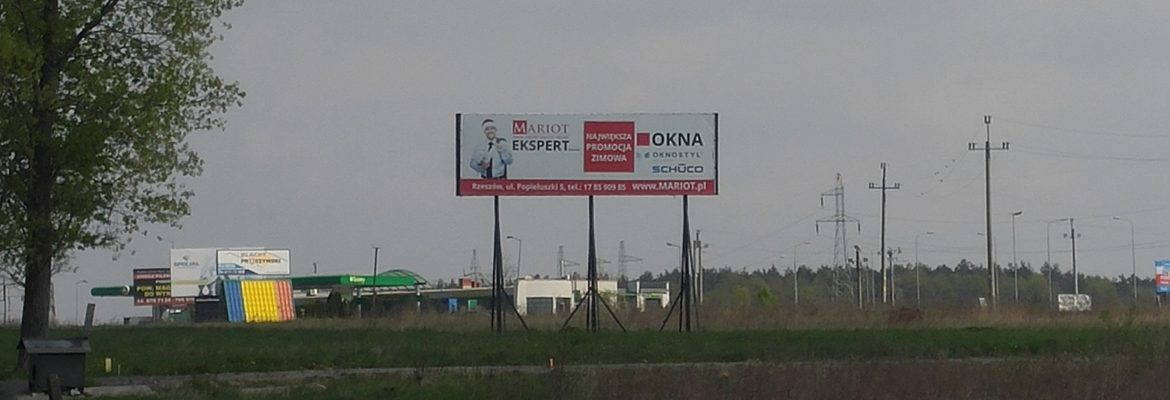 Billboard Stobierna
